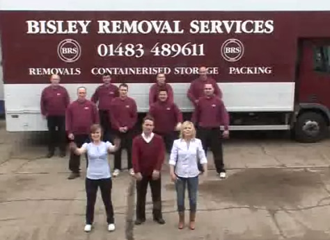 Bisley Removals Team