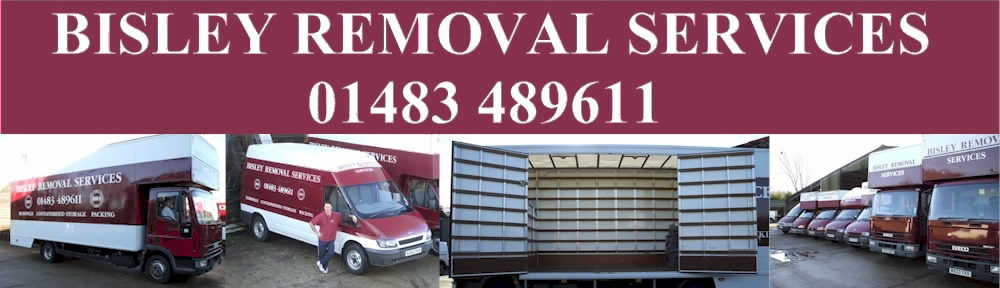 Removal, storage and packing services in Woking, Surrey and the surrounding areas